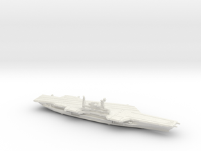USS Midway (1992) w/Hanger, 1/1250 in White Natural Versatile Plastic
