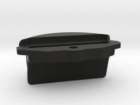 Eckclip_45Grad_16Grad_geneigt_29-8_x_14-8 in Black Natural Versatile Plastic