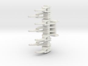 Kalkrechen / limestone rake QC80 in White Natural Versatile Plastic: 1:50