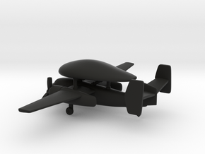 Grumman E-1 Tracer in Black Natural Versatile Plastic: 6mm