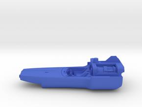 Captain Action Silver Streak In Flight 7in Model in Blue Processed Versatile Plastic