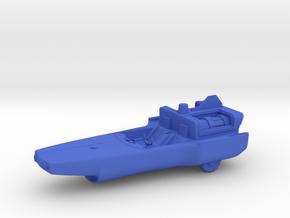 Captain Action Silver Streak 7in Model Original in Blue Processed Versatile Plastic