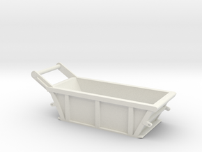 1/50th 5 cubic yard bedding box in White Natural Versatile Plastic
