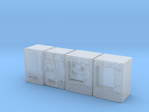 Snack machines (x4) 1/200 in Smooth Fine Detail Plastic