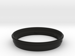 Adapter ring only for M.Zuiko 7-14mm and Kase K8 in Black Natural Versatile Plastic