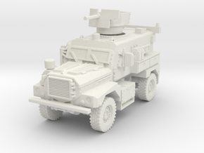 MRAP Cougar 4x4 early 1/72 in White Natural Versatile Plastic