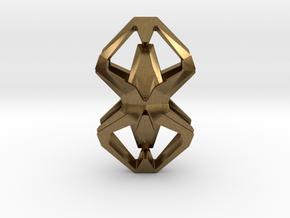 HEART TO HEART Heartonaut, Pendant in Natural Bronze