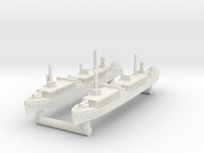 Notoro Seaplane Tender [x2] in White Natural Versatile Plastic