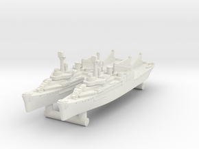 Curtiss Seaplane Tender [x2] in White Natural Versatile Plastic