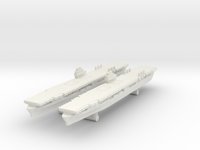 Aircraft Carrier Ranger [x2] in White Natural Versatile Plastic