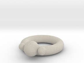 Awesome Ring in Natural Sandstone