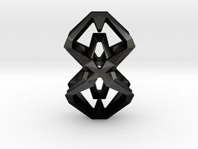 HEAD TO HEAD Perfect Union, Pendant in Matte Black Steel