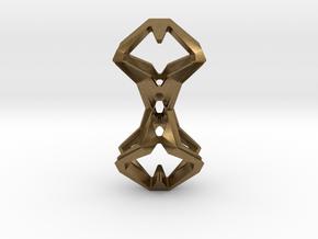 Timeless Heart, Pendant in Natural Bronze