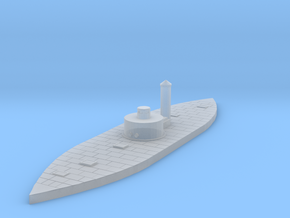 1/1000 Passaic Class Monitor in Smooth Fine Detail Plastic