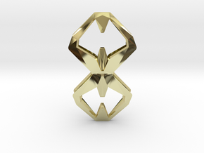 Sharp Union, Pendant. Sharp Chic  in 18k Gold