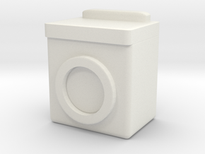 Washing Machine 1/35 in White Natural Versatile Plastic