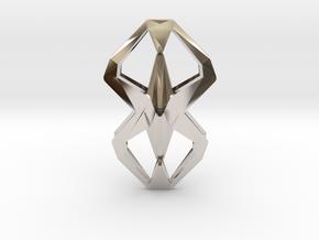 HEAD TO HEAD Una, Pendant  in Platinum
