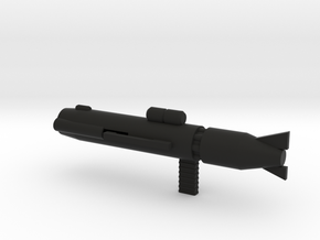 GU-11LP in Black Natural Versatile Plastic