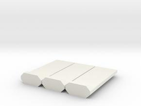 Barrera-3UD-72-proto-01 in White Natural Versatile Plastic