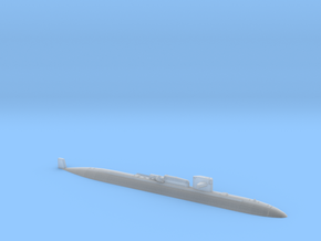 USS LA JOLLA WL - 1250 w DDS n SDV in Smooth Fine Detail Plastic