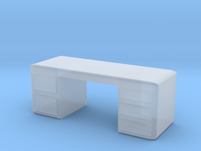 Office Desk 1/48 in Smooth Fine Detail Plastic