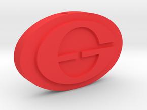 The Incredibles - Elastigirl Logo Charm in Red Processed Versatile Plastic