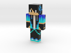 ariomnas_mc_original_blue_cool_boy_skin | Minecraf in Natural Full Color Sandstone
