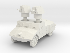 Morris Commercial Experimental tank 1:87 in White Natural Versatile Plastic