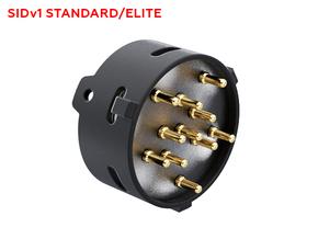 SID NPXL connector Holder Part 1 in Black Natural Versatile Plastic