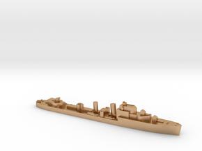 HMS Hesperus destroyer 1:1800 WW2 in Natural Bronze