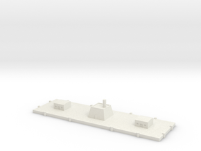 1/600 CSS New Orleans Floating Battery in White Natural Versatile Plastic