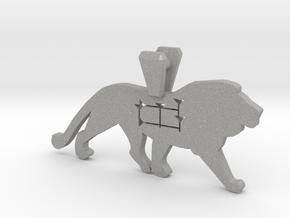 The Lion in Aluminum