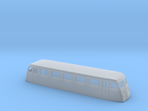 Swedish railcar Yo N-scale in Smooth Fine Detail Plastic