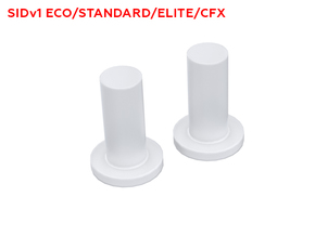 SID transparent LED switches plungers in Smooth Fine Detail Plastic