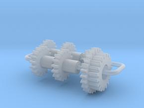 Bachmann N US 2-8-2 & 2-8-0 Axles & Gear (1st Gen) in Smooth Fine Detail Plastic