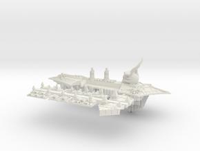 Khorne_2_cruiser in White Natural Versatile Plastic