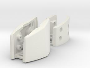 Logtech G930-G430 Full Set - Inside and Outside  in White Natural Versatile Plastic