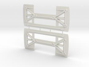 Element RC Enduro Sendero Body Clamp in White Natural Versatile Plastic