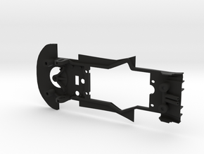 Chassis for 1/32 Carrera Porsche 911 RSR in Black Natural Versatile Plastic