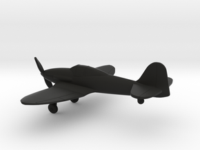 Heinkel He 112 in Black Natural Versatile Plastic: 1:160 - N