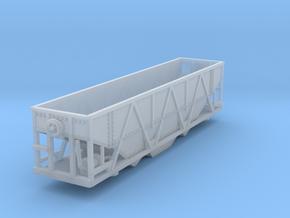 Gondola Coal Z scale in Smooth Fine Detail Plastic