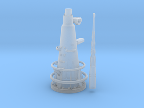 1/48 dkm uboot viic attack periscope w. compass in Smooth Fine Detail Plastic