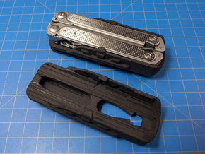 Holster for Leatherman Free P2 in Black Natural Versatile Plastic: Small