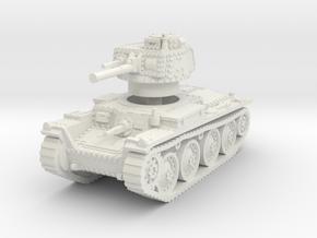 Panzer 38t B 1/100 in White Natural Versatile Plastic