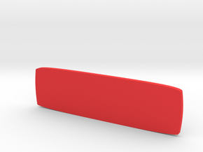 Piper Aircraft Yoke Emblem  in Red Processed Versatile Plastic