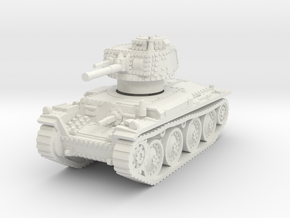 Panzer 38t E 1/72 in White Natural Versatile Plastic