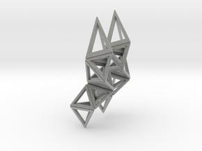 CRYSTAL - earrings in Metallic Plastic