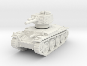 Panzer 38t E 1/120 in White Natural Versatile Plastic