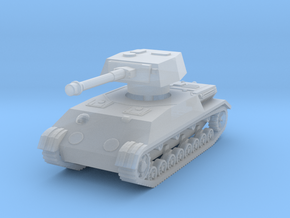 Panzer IV K 1/285 in Smooth Fine Detail Plastic