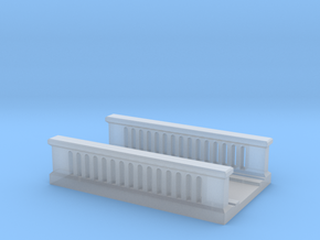 Concrete Bridge 1/220 in Smooth Fine Detail Plastic